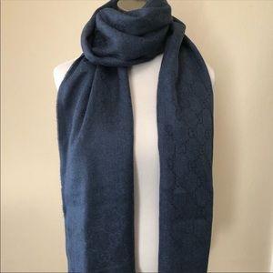 Authentic Gucci unisex scarf